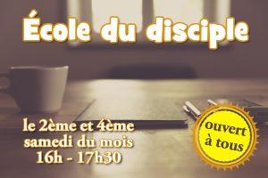 École du disciple @ Centre Chrétien | Troyes | Grand Est | France